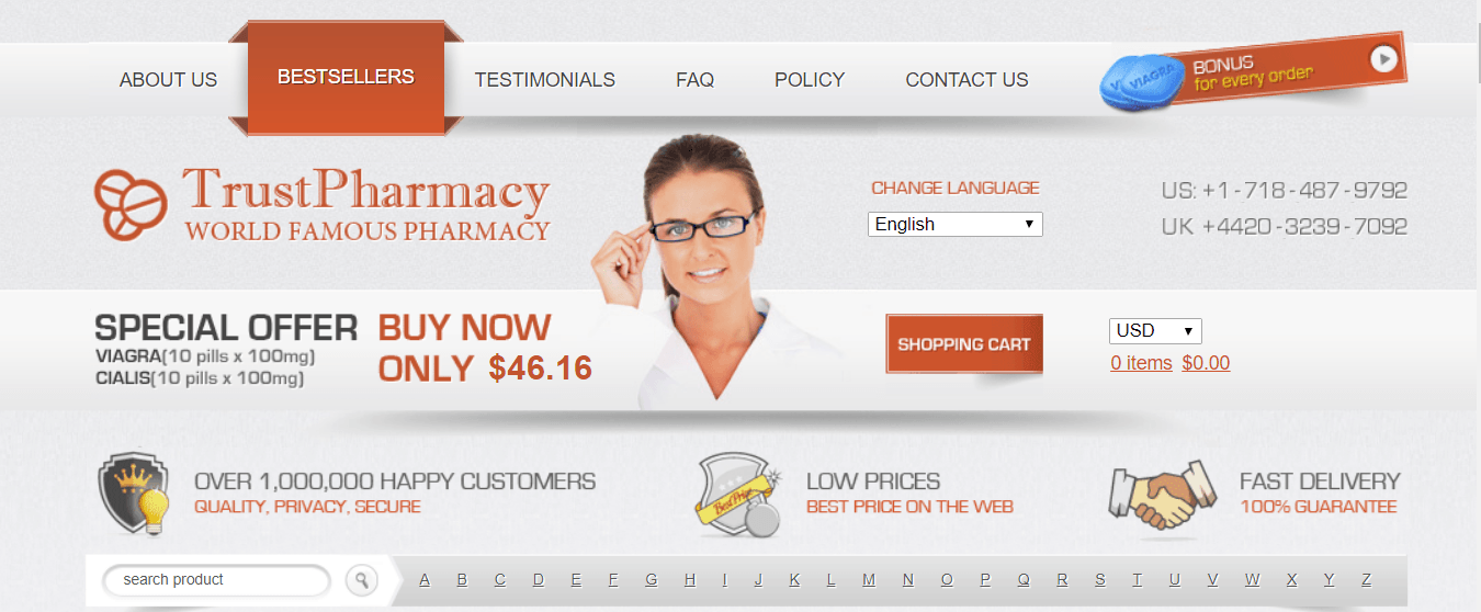 Trust Pharmacy, Safe Canadian Online Pharmacy