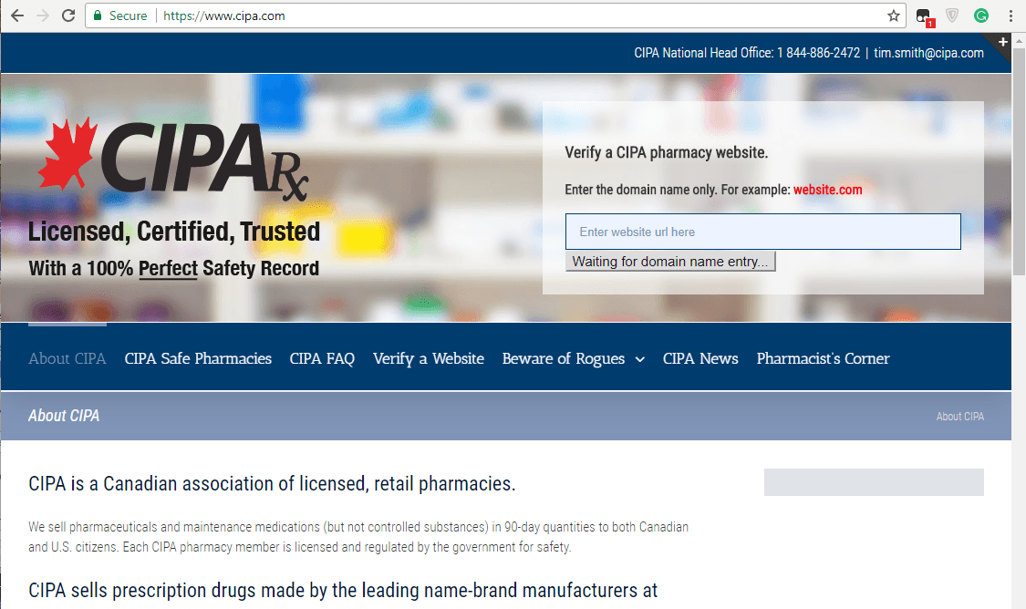 Is Canadian Pharmacy Legit: Distinguishing Fake Pharmacies from Real Ones