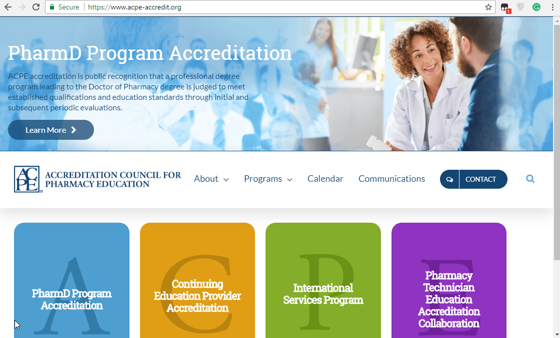 ACPE Home Page