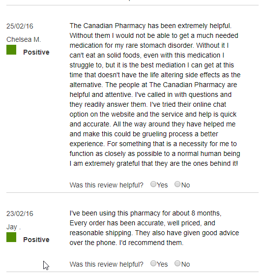 The Canadian Pharmacy Reviews