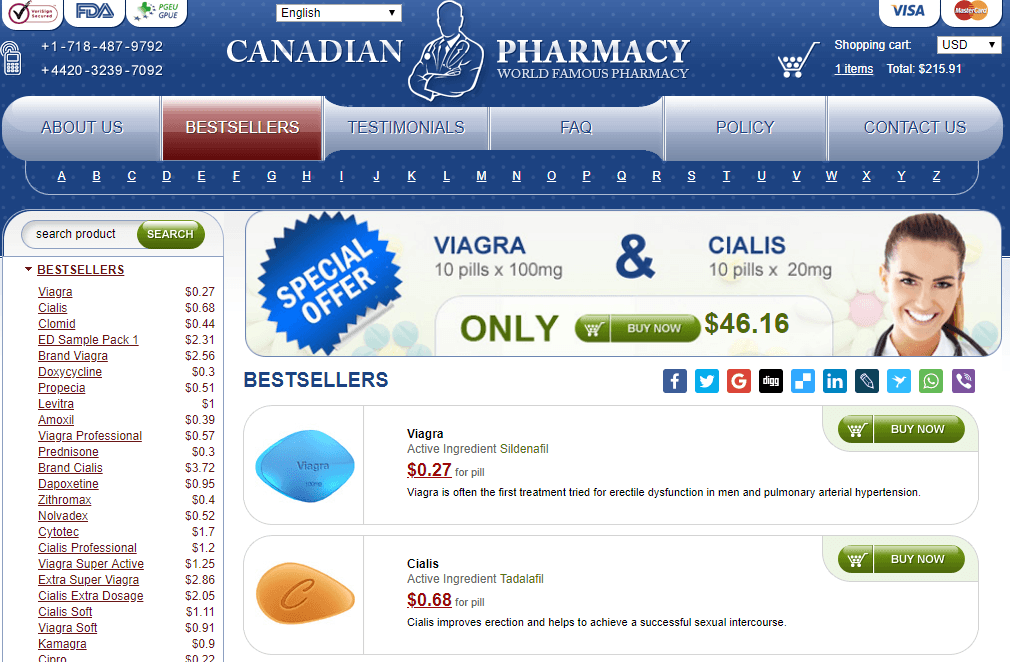 Online Pills, Trusted Canadian Pharmacy