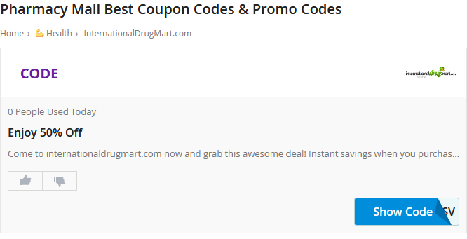 Photo of Pharmacy mall coupon code