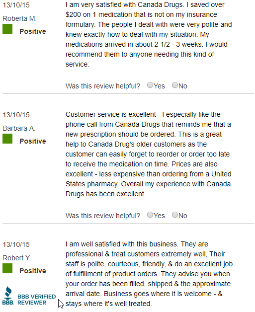 Trusted Pharmacy Reviews