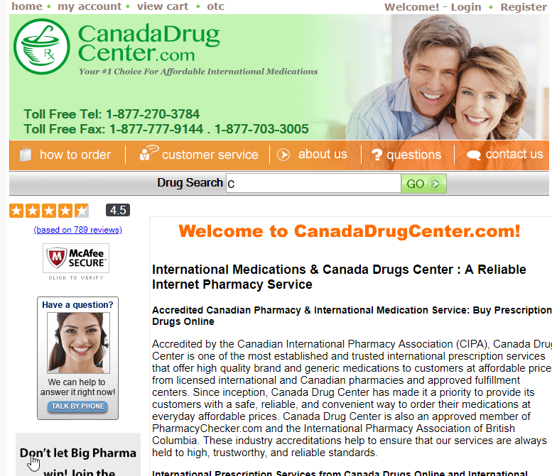 Canadadrugcenter.com Review: A Pharmacy with Mixed Consumer Reactions