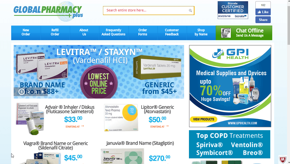 Global Pharmacy Plus Reviews: Find Out How Good this Pharmacy Is