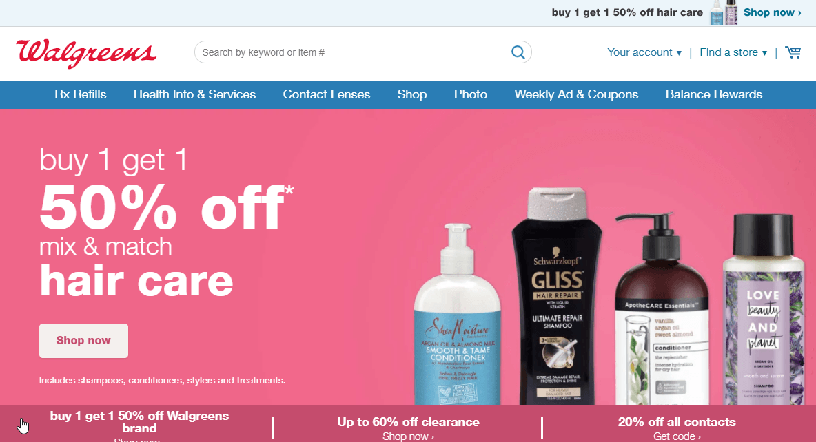 Drugstore.com Website: Awesome Store Closed