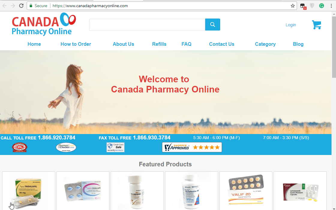 Canadapharmacyonline.com: A Great Way to Refill Your Prescriptions