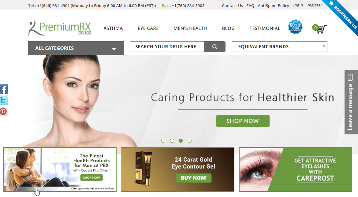 Premiumrxdrugs: An Indian Med Store with Great Reviews